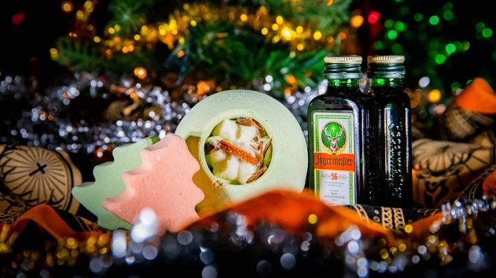 Jägermeister Has Launched A Limited Edition Christmas Jäger Bath Bomb