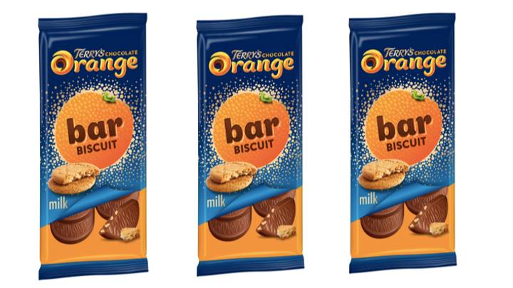 You Can Now Get Terry's Chocolate Orange Biscuit Bars