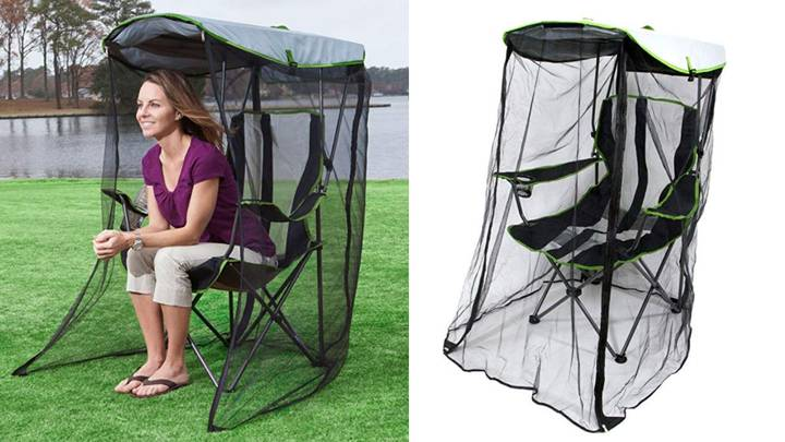 This Game-changing Outdoor Chair Has Netting To Protect You From Bugs