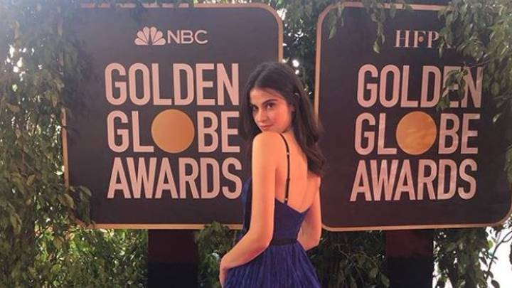 The Water Girl At The Golden Globes Becomes The First Meme of 2019