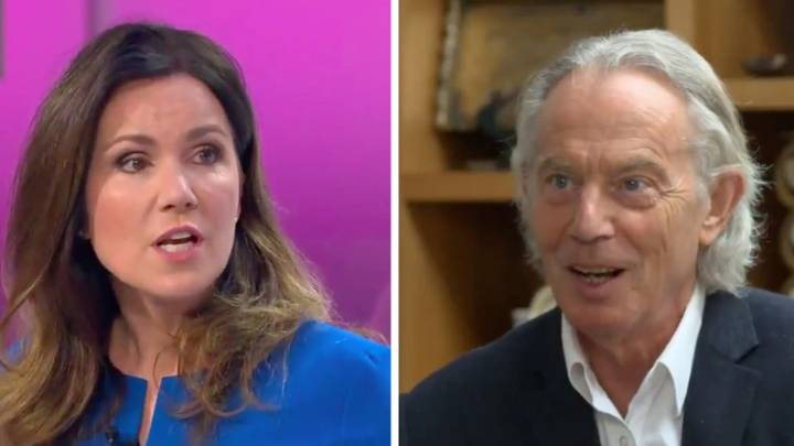 GMB's Susanna Reid Just Shot Down Tony Blair Over Hair Complaints: 'Welcome To Being A Woman'