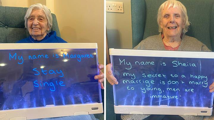 Care Home Residents Share Their Relationship Advice For Valentine's Day