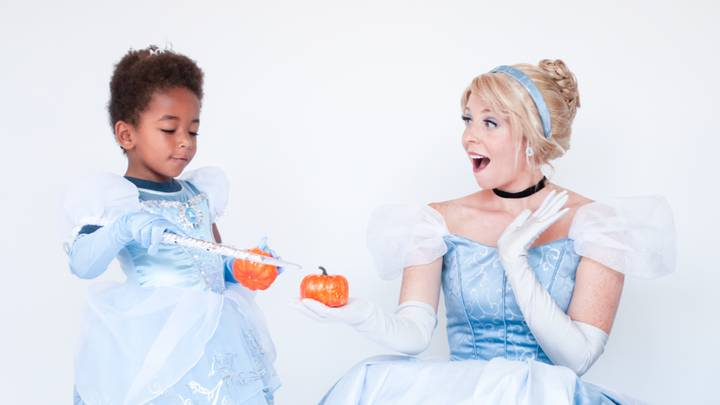 A New Photoseries Shows Little Boys They Can Be Princesses Too