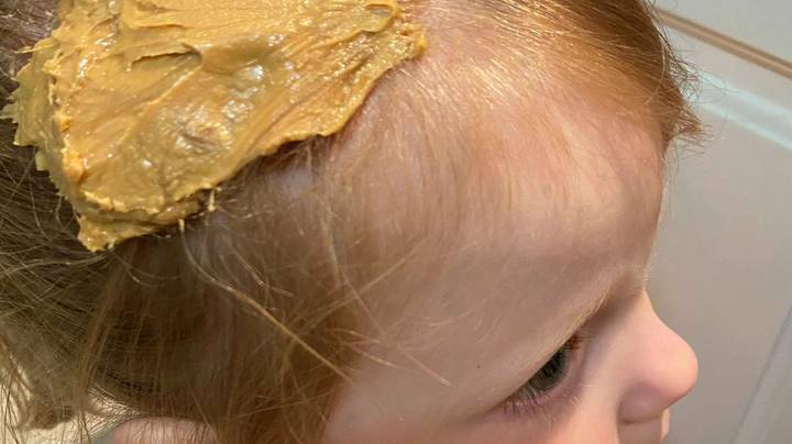Mum Uses Genius Peanut Butter Hack To Get Gum Out Her Daughter's Hair