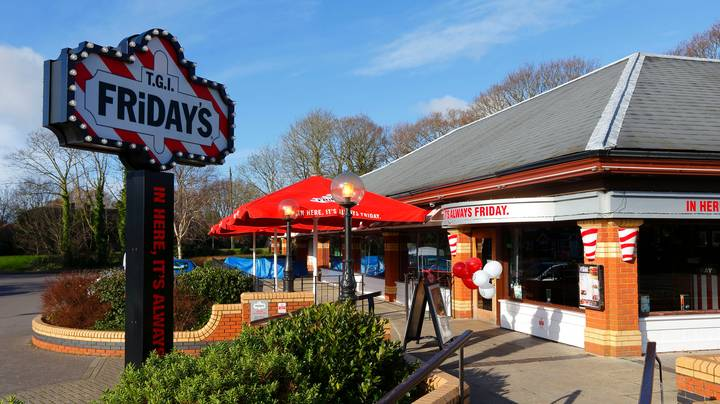 TGI Friday's Has Just Launched A Brand New Menu For Delivery
