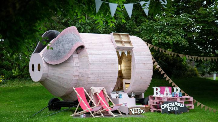 You Can Soon Camp Inside A Giant Wooden Pig And It Has To Be Seen To Be Believed