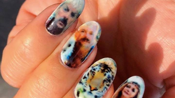 People Are Now Doing 'Tiger King' Manicures To Ease Isolation Boredom