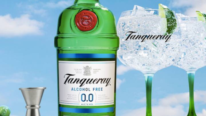 Tanqueray Unveils 0.0% Alcohol Free Gin For Those Who Want To Go Booze-Free
