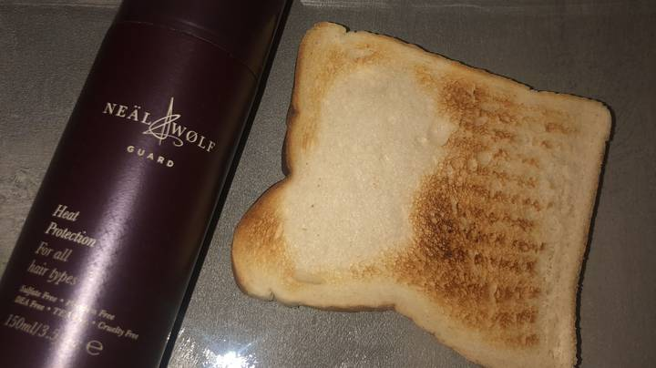 Stylist's Toast Experiment Proves Just How Important Heat Protector Spray Is