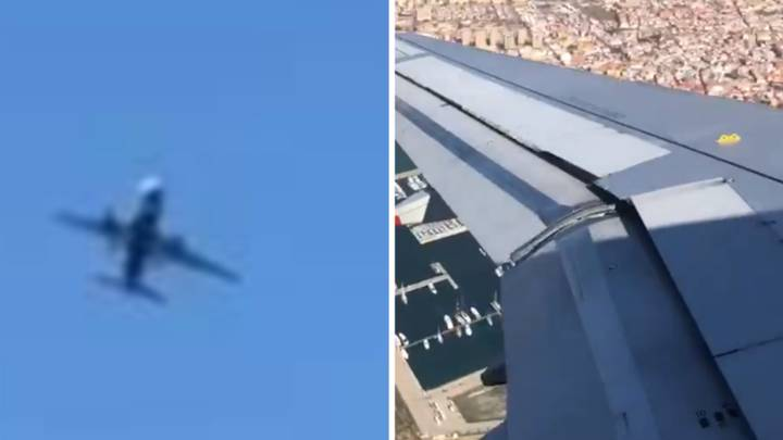 Flight Passenger Says Final Prayers As Plane Struggles To Stay Airborne In Terrifying Footage
