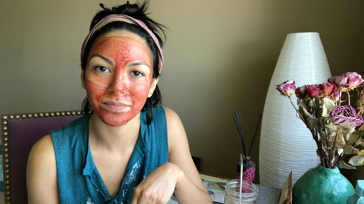 Woman Says 'Period Blood Face Mask' Makes Her Skin Silky Smooth