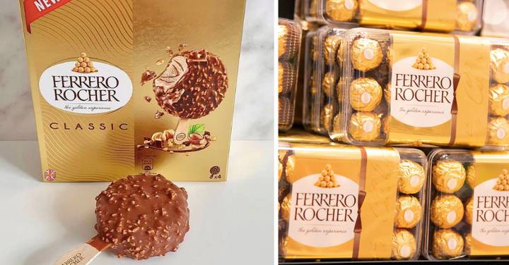 Ferrero Rocher Ice Cream Collection Is Coming To The UK