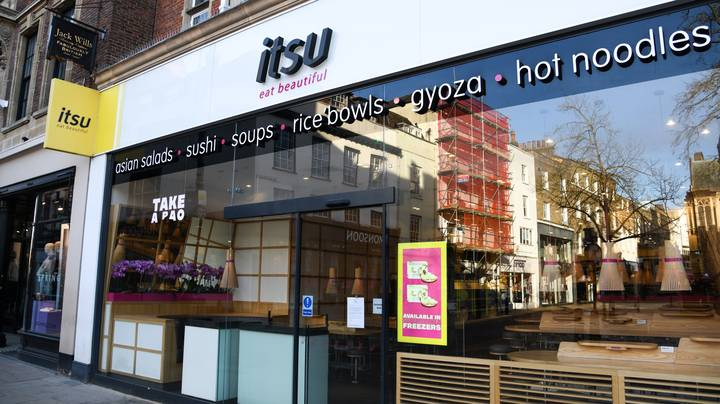 You Can Get A Free Katsu Dish From Itsu Today