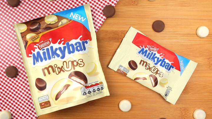 Milky Bar Launches First Milk Chocolate Treat Next Week - And We Need Them In And Around Our Mouth