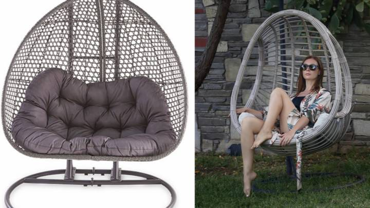 Aldi Is Bringing Out A Two-Person Version Of Its Hanging Egg Chair