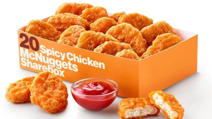 McDonald's Spicy Chicken McNuggets Are In Store Today And Halleluiah