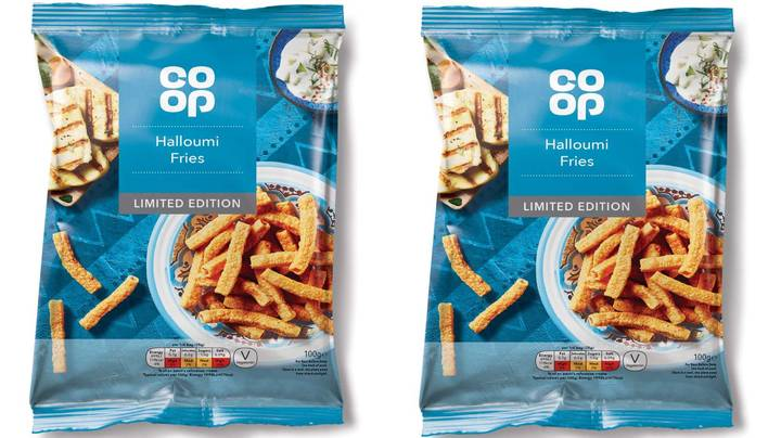 Co-op Is Selling Packs Of £1 Halloumi Fries Crisps
