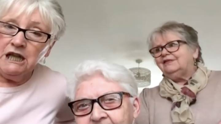 Three Elderly Women Move In With Each Other To Self Isolate