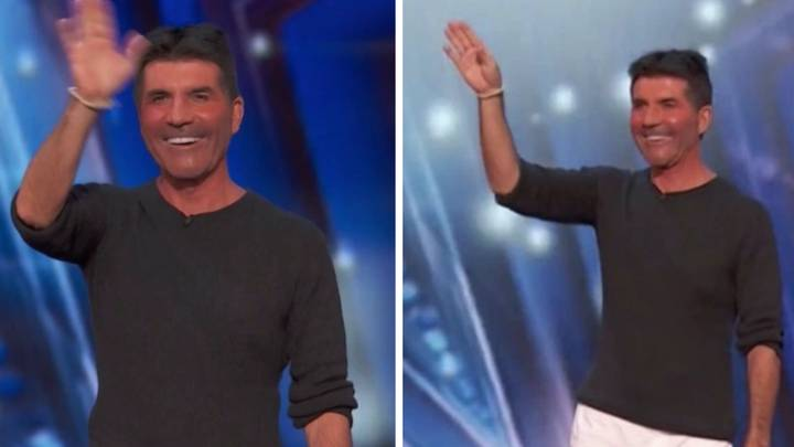 People Can't Cope With Simon Cowell's Tiny Shorts On America's Got Talent