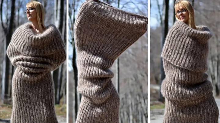 This Giant Scarf Is The Only Thing Introverts Need This Christmas
