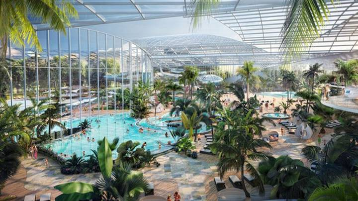 Huge Tropical Spa Water Park Is Coming To The UK
