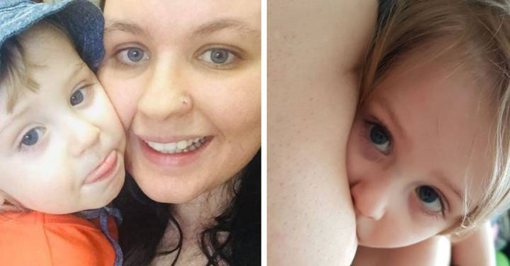 Mum Defends Breastfeeding Her Son, 3, After Being Slammed By Strangers
