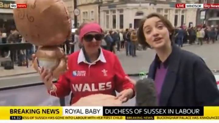 Royal Baby's Biggest Fan Gives Hilarious Interview Following Birth Announcement