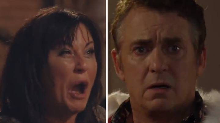 'EastEnders' Christmas Trailer Hints Kat Moon Could Murder Husband Alfie