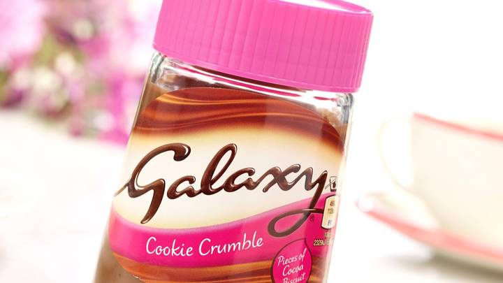 Galaxy Launches Chocolate Cookie Crumble Spread