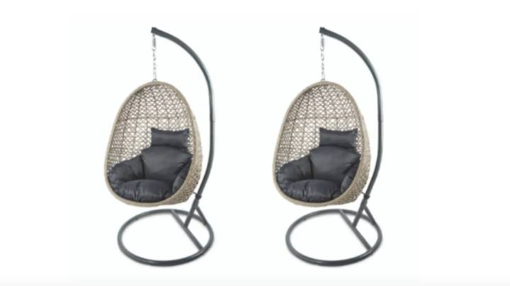 Aldi's Sell-Out Hanging Egg Chair Is Back Online This Bank Holiday Weekend