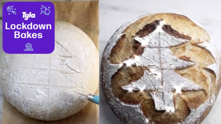 People Are Making Christmas Sourdough Bread - And It Looks Delicious