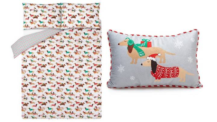 Asda Is Selling Christmas Sausage Dog Bedding And We Love it