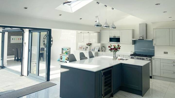 Couple Transform Run Down House Into Stunning Family Home