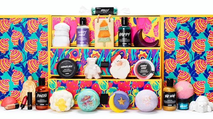 Lush Is Launching A Brand New Fold-Out Advent Calendar And We Need It Now