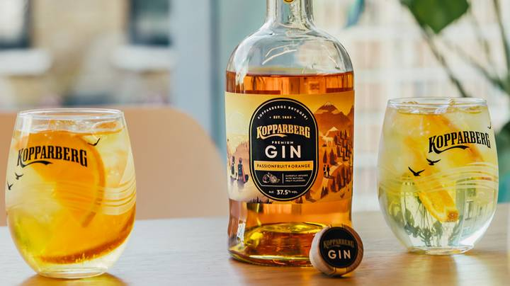 People Are Going Mad For Kopparberg's New Passionfruit And Orange Gin Range
