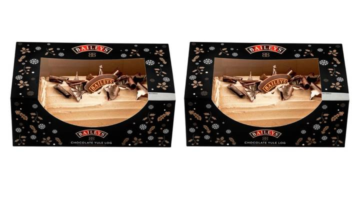Baileys Yule Log Is Back At ASDA In Time For Christmas