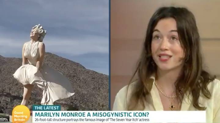 Good Morning Britain: Marilyn Monroe Sculpture Faces Backlash For Promoting Misogyny And Upskirting