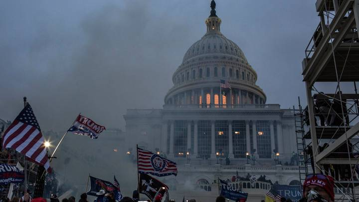 Capitol 'Coup' Attempt: People Are Comparing Washington Riots To Scenes From The Handmaid's Tale
