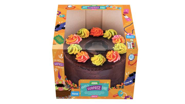 Asda Launches Edible Gift Boxes To Hide Presents Inside Cakes