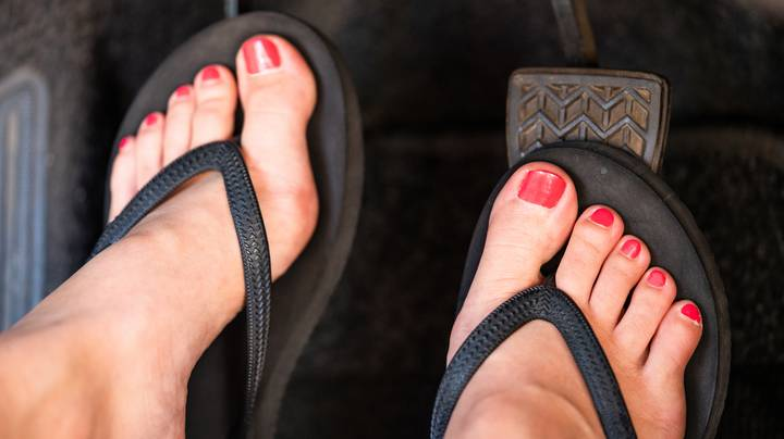 Driving In Flip Flops Could Land You With A Fine And Points On Your Licence