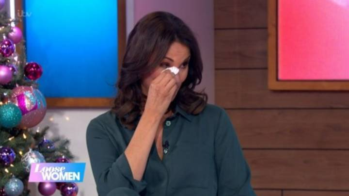 Andrea McLean In Tears As She Announces She Is Leaving Loose Women After 13 Years