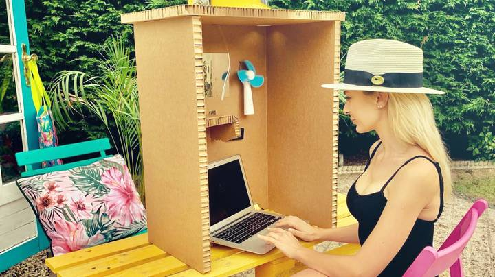 This Box Will Let You Use Your Laptop Outside In The Sun