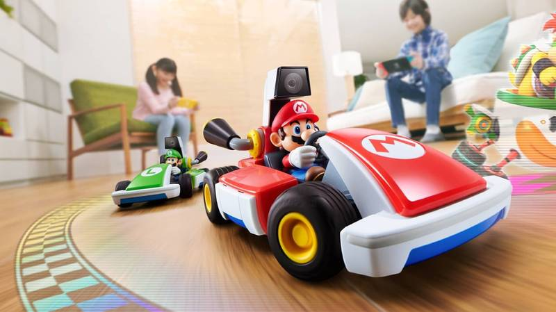 New Mario Kart Game Lets You Drive Around Your Actual House