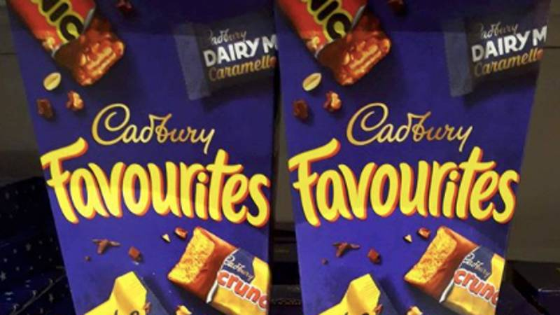 You Can Now Get Boxes Of Cadbury Favourite Chocolates From B&M