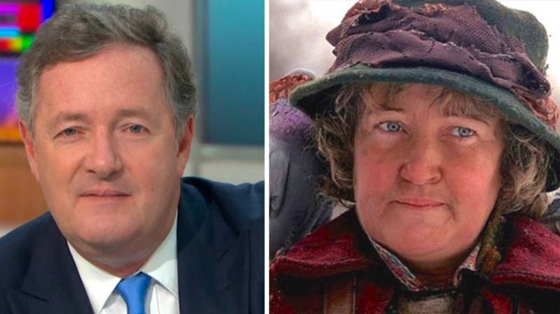 Piers Morgan Forced To Deny He Is The Pigeon Lady From Home Alone 2