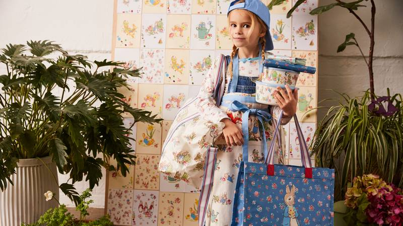 Cath Kidston Launches Peter Rabbit Collection Including Clothing, Homeware And Accessories