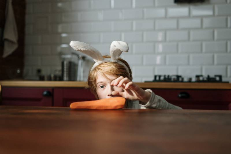 Telling Kids Carrots Can Help Them See In The Dark 'Damages Them Later In Life'