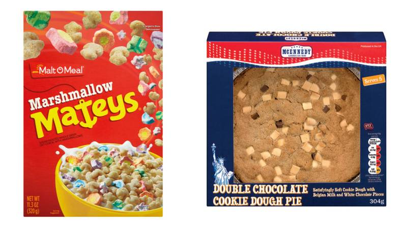 Lidl Launches New US-Inspired Food Range Including Marshmallow Cereal