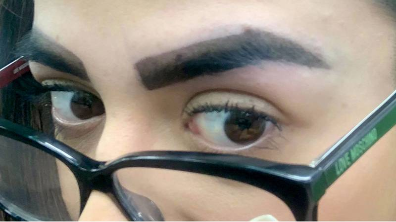 Woman Leaves Salon In Tears Over Botched Brow Treatment