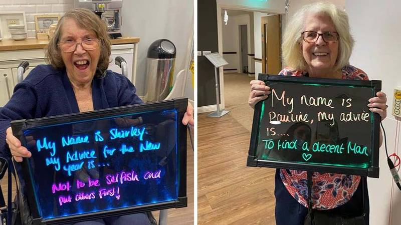 EXCLUSIVE: Bourn View Care Home Residents Share Their Christmas Wishes And Advice For 2021